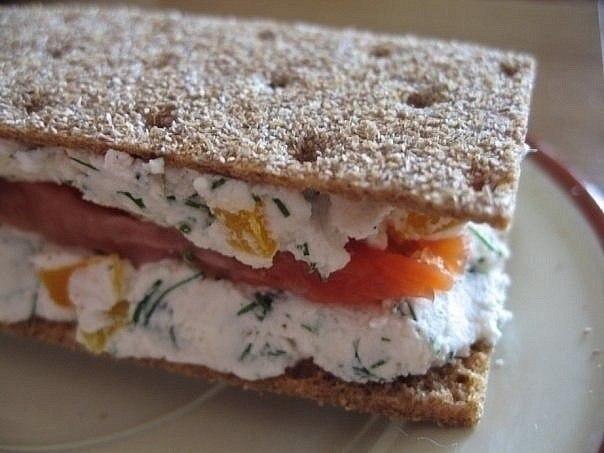 Дієтичний корисний бутерброд. Рецепт