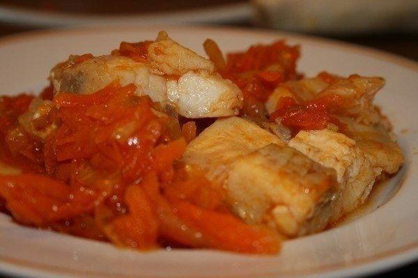 Рецепт риби під маринадом