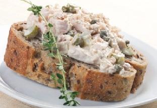Бутербродних паста (паштет) з тунця. Рецепт