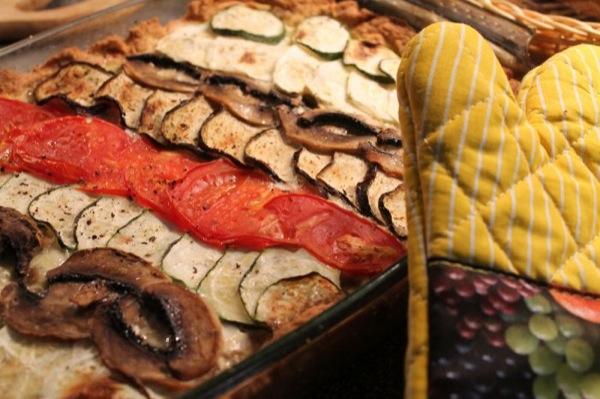 Овочевий пиріг (вегетаріанський) рецепт з фото