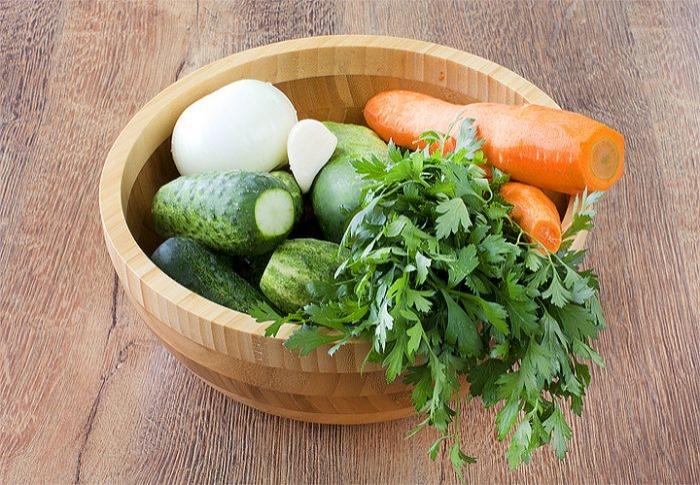 Салат з огірків на зиму. Покроковий рецепт з фото