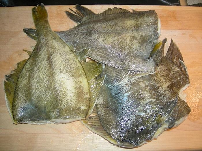 Риба камбала на грилі (на сковорідці гриль). Покроковий рецепт з фото