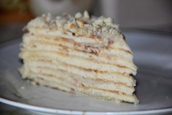 Торт «Хвилинка» без випічки. Покроковий рецепт з фото