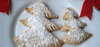 Печиво «Снігова новорічна ялинка». Покроковий рецепт з фото