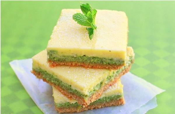 М'ятно-лимонні тістечка для святкового столу. Покроковий рецепт з фото