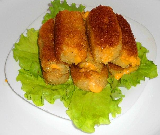 Картопляні палички з сиром. Рецепт