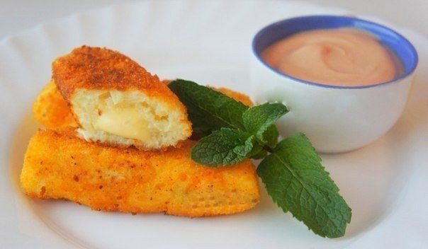 Картопляні палички з сиром. Покроковий рецепт з фото