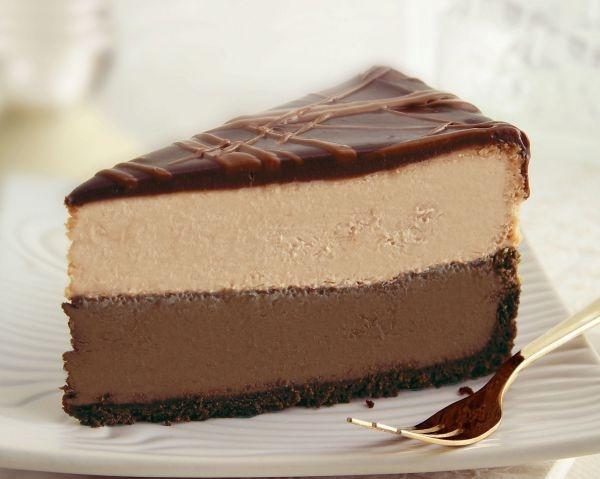 Шоколадний сирний пиріг. Рецепт з фото