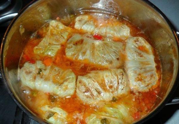Голубцы рецепт пошагово в кастрюле в духовке